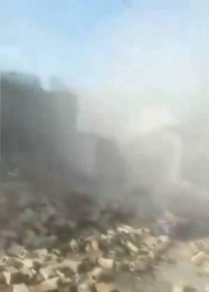 Primeiras imagens virais do Haiti após o terremoto mostram casa que desabou