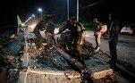 Quanto aos danos materiais, opresidente do México, Andrés Manuel López Obrador, afirmou em mensagem que foramrelatadas em Guerrero e em Morelos (centro)