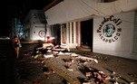 O terremoto também foi percebido de maneira moderada em algumasregiões do estado do México e Veracruz (leste) e causou um