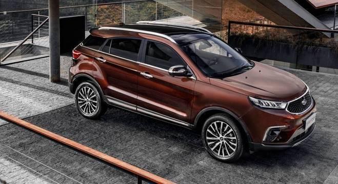 O Ford Territory está pronto há tempos e já foi mostrado inclusive no Brasil em dezembro de 2018.
