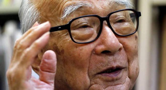 Terumi Tanaka, sobrevivente da bomba de Nagasaki e ativista contra armas nucleares