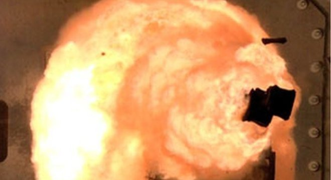 Os Estados Unidos têm realizado testes de armas com energia eletromagnética