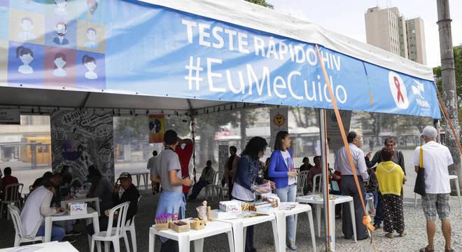 Teste rápido e grátis para HIV em Curitiba, no Paraná