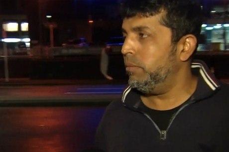 Mazharuddin contou como foi salvo de tiroteio