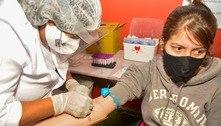Testes de covid-19 são realizados em comunidade na zona leste de SP