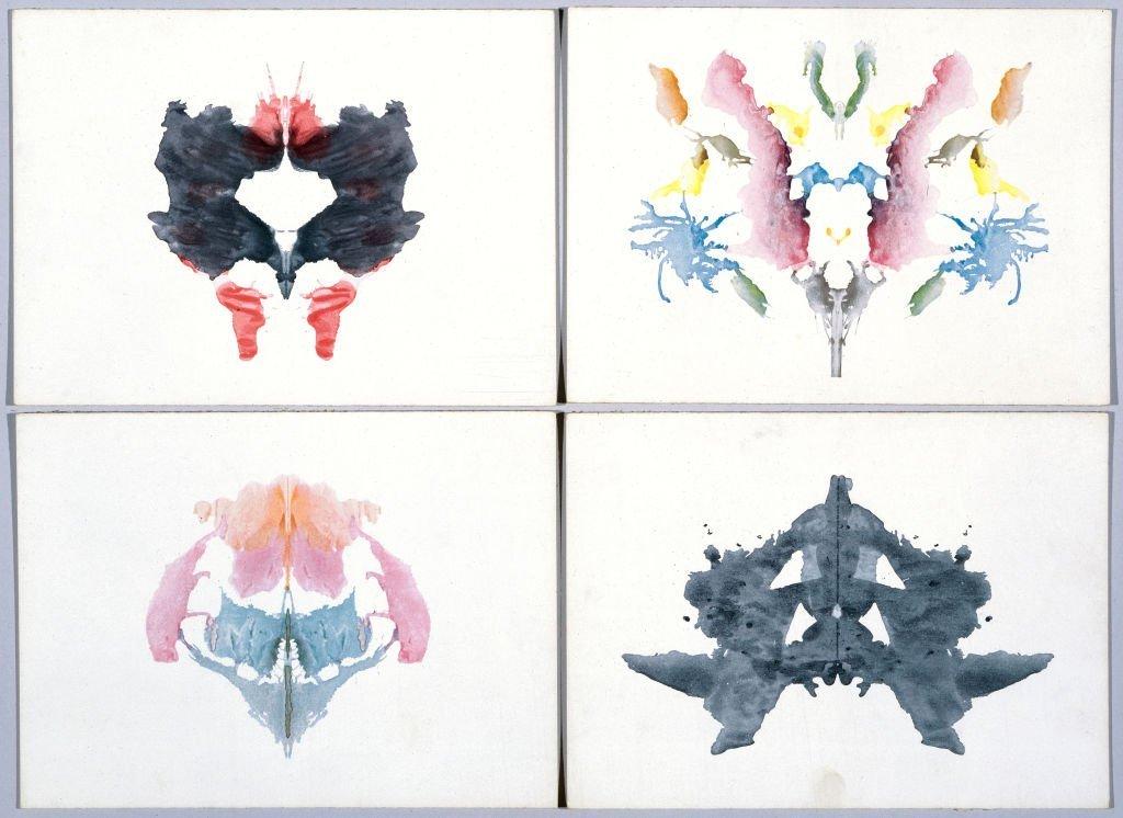 Os testes de Rorschach foram um dos métodos usados para analisar criminosos de guerra
