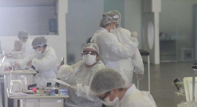 Exame pode ser uma alternativa para a testagem da doença em larga escala