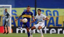 Santos e Boca ficam no 0 a 0 no 1º jogo da semifinal da Libertadores