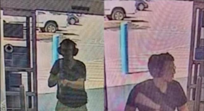 Atirador foi registrado por câmeras de segurança do centro comercial