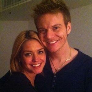 Thais postou foto do primeiro encontro do casal