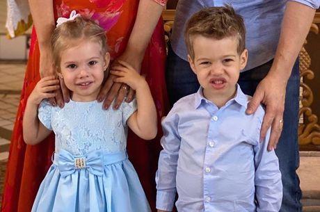 Melinda e Teodoro têm apenas 1 ano de diferença de idade
