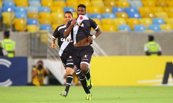 Thalles - estreou em 2013 - 157 jogos e 35 gols pelo Vasco - O atacante, infelizmente, faleceu em 2019, num acidente de moto