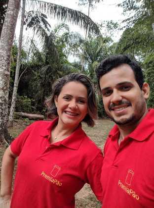 DIA DOS NAMORADOS: Thallison e Jockebede Meneses são donos de uma unidade da franquia Premiapão