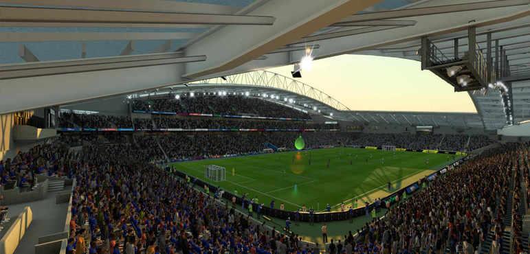 The Amex Stadium - Inglaterra
