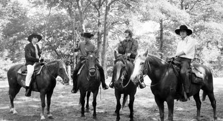 Os Beatles em 1964 no Missouri, EUA