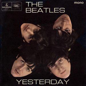 """Capa do single """"Yesterday"""" dos Beatles"""