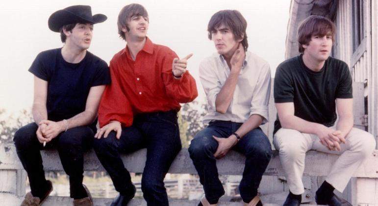 Os Beatles em 1964 no Reed Pigman's Ranch, Missouri
