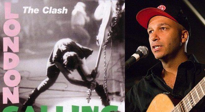 """Tom Morello celebra 40 anos de disco do The Clash: """"introdução à música"""""""
