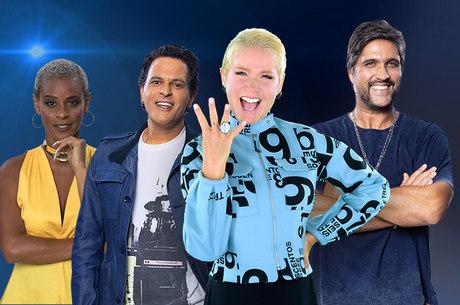 Xuxa comanda a disputa musical, que tem Aline Wirley, João Marcello Bôscoli e Leo Chaves como jurados