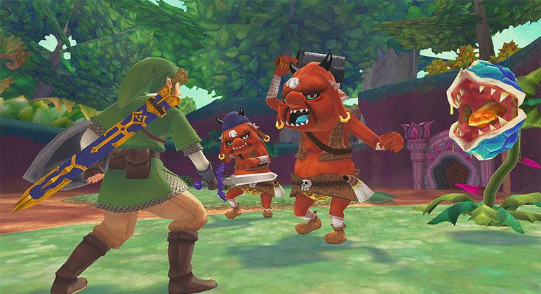 The Legend of Zelda: Skyward Sword HD aparece em novo trailer