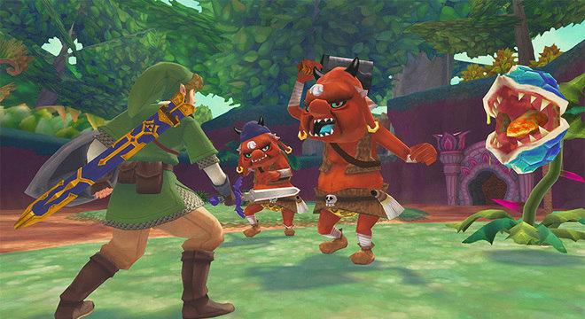 The Legend of Zelda: Skyward Sword para Switch aparece em loja