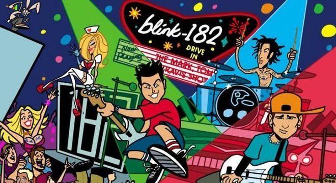 """blink-182: """"The Mark, Tom and Travis Show"""" volta ao streaming – ouça"""