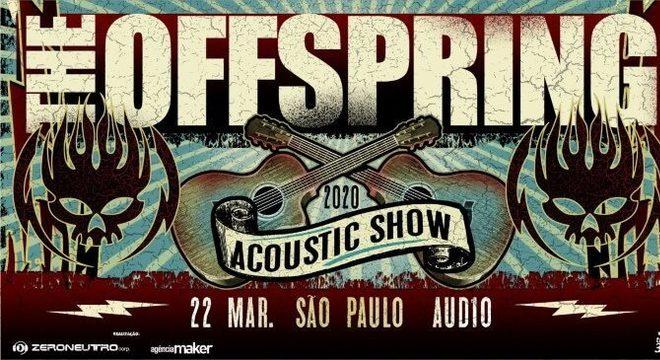 The Offspring acústico em São Paulo
