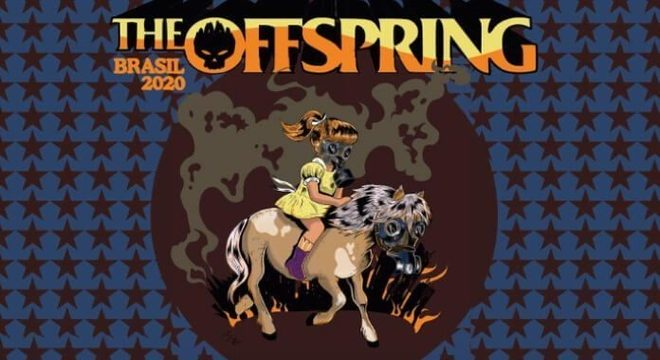 The Offspring e Pennywise no Brasil