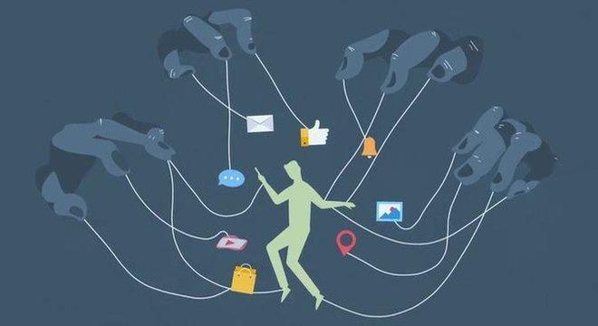 Como aqueles que lidam com redes sociais nos manipulam?