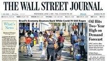 Wall Street Journal destaca crescimento e pandemia no Brasil