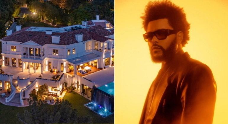 O cantor The Weeknd desembolsou uma verdadeira fortuna para comprar sua nova mansão. Segundo o jornal The Wall Street Journal, a propriedade custou US$ 70 milhões, algo em torno de R$ 380 milhões. Veja fotos do local