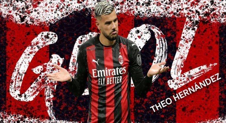 Theo Hernández, o astro do sucesso do Milan