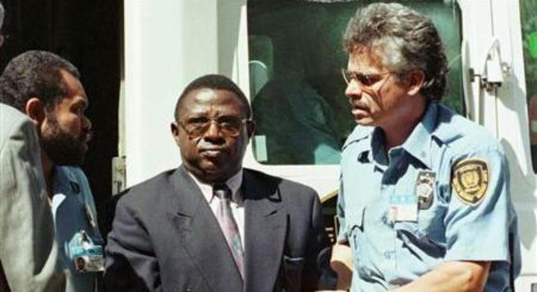 Em 2008, Bagosora foi condenado à prisão perpétua