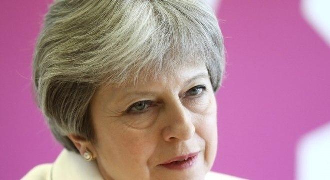 """""""Há amplo apoio internacional para a ação que tomamos"""", disse May"""