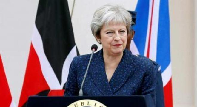 Theresa May, premiê do Reino Unido