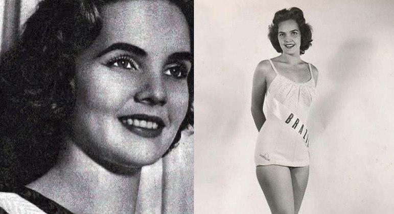 Therezinha ficou em lugar no Miss Universo em 1957 e foi Miss Brasil no mesmo ano