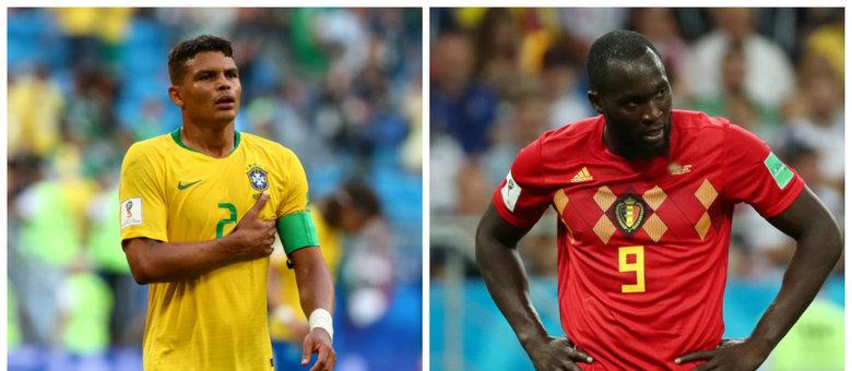 Thiago Silva e Romelu Lukaku farão um duelo decisivo na próxima sexta-feira 96)