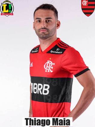 Thiago Maia - 7,0 - Entrou no segundo tempo, mostrou ainda estar fora do ritmo, mas teve estrela para marcar o segundo gol rubro-negro nos acréscimos - primeiro gol dele pelo Flamengo.
