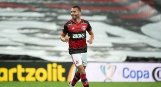 Thiago Maia - Flamengo x Athletico PR