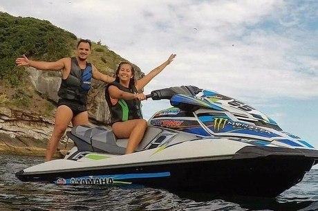 Thiago era amante de moto aquática