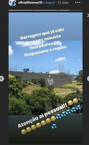 Thiago Neves usa tragédia de Brumadinho para provocar rival ... fe15b0f358e77