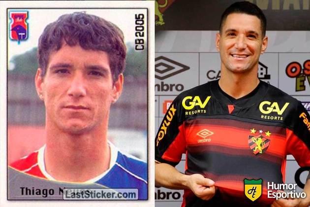 Thiago Neves jogou pelo Paraná em 2005. Inicia o Brasileirão 2021 com 36 anos e jogando pelo Sport.