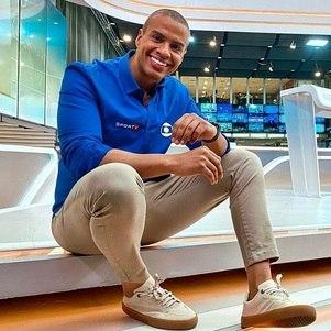Thiago Oliveira, do esporte da Globo