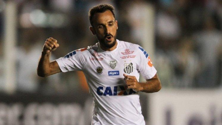 Thiago Ribeiro: em 2014, quando defendia o Santos e vivia o auge sua carreira, o atacante foi diagnosticado com depressão. Hoje, ele venceu a doença e defende a Chapecoense.