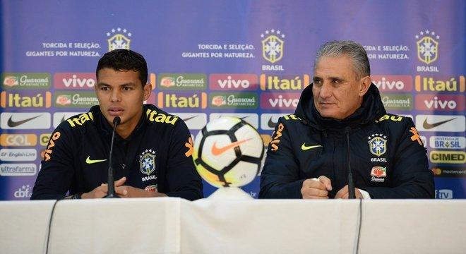 Tite sabe. O que acontecer com Thiago Silva na Champions refletirá na Seleção