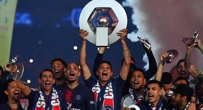 Thiago Silva conquistou nada menos do que 24 títulos pelo PSG