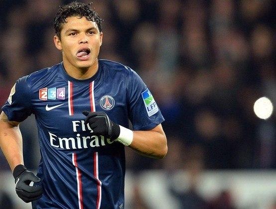 Thiago Silva (4,8 milhões de euros): Brasil, zagueiro, 35 anos, deve deixar o Paris Saint-Germain após a Champions League 2019/20