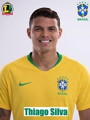 Thiago Silva -6,0 : Como a Venezuela ficou muito recuada, o zagueiro passou a maior parte do jogo na linha do meio-campo, tentando iniciar as jogadas brasileiras. Conseguiu uma boa enfiada e não cometeu erros.