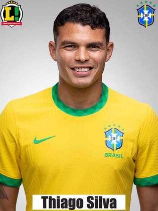 Thiago Silva - 6,0 - Foi seguro na defesa, não teve culpa no gol sofrido. Marcou um gol que foi anulado por impedimento.