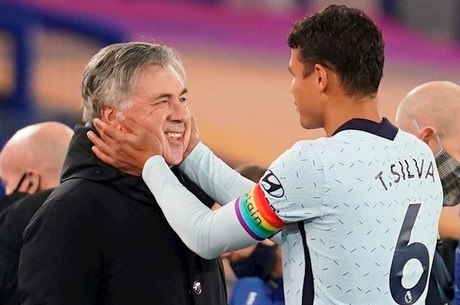 Thiago Silva vê Ancelotti como uma das referências